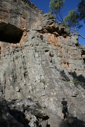 Arapiles climbing mirawara
