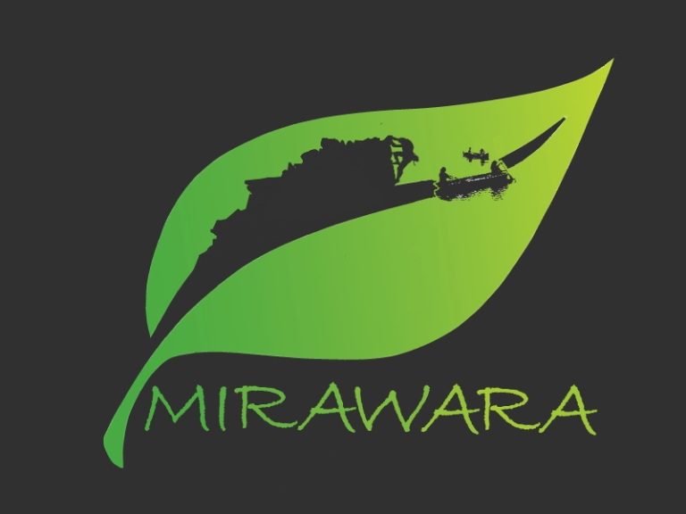 mirawara logo website